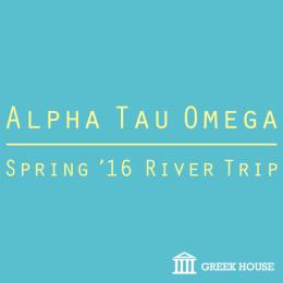 Alpha Tau Omega River Trip