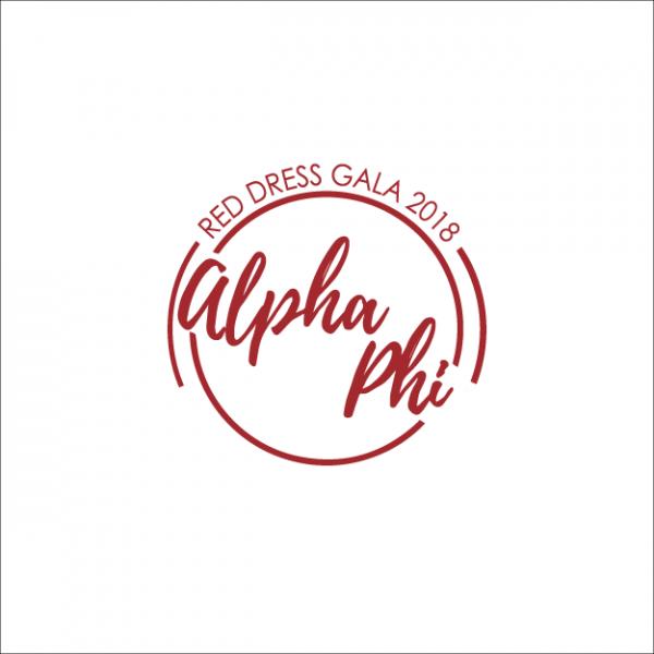 e11423c3ad0 Alpha Phi Red Dress Gala - WOmen s
