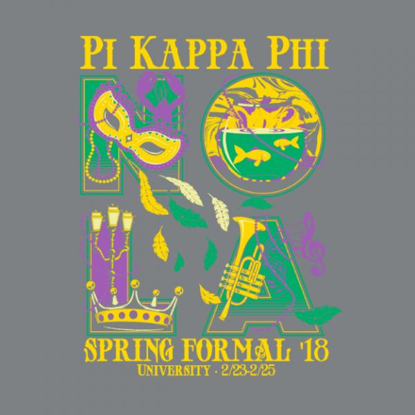 Pi Kappa Phi At Auburn University Nola Spring Formal 2018 Greek